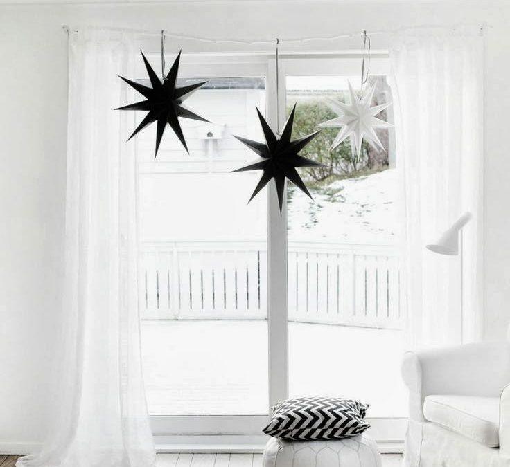 black, white & moroccan