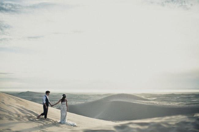 boda desértica