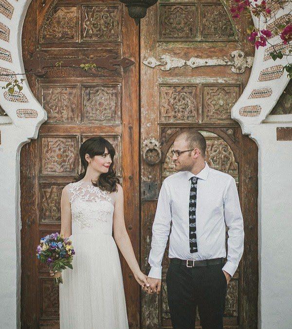 inspiración marroquí para una boda