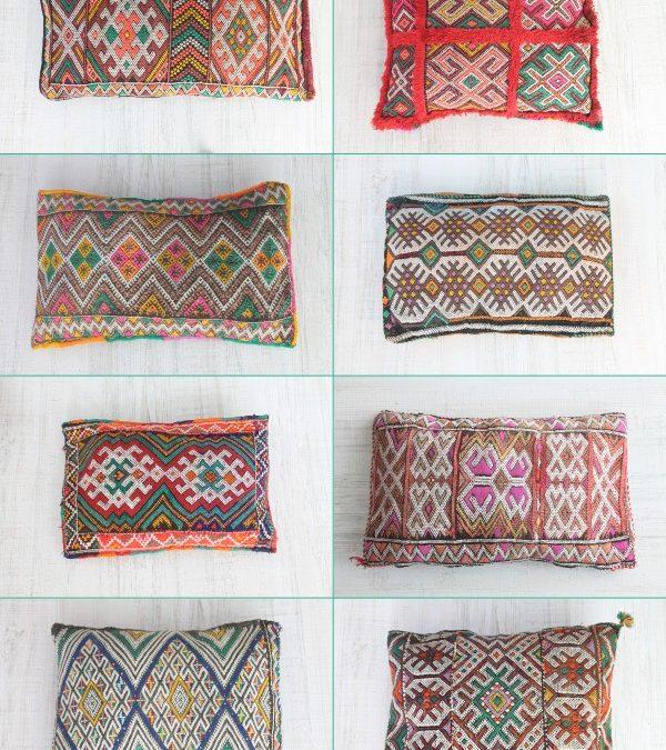 nueva colección – cojines bereberes