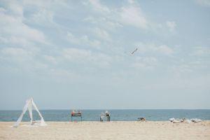 de celebración en la playa