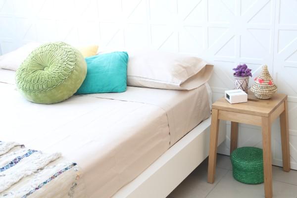 mi dormitorio en verano